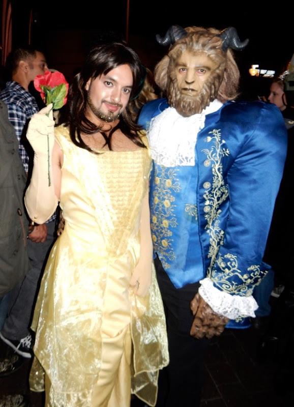 Weho Halloween Beauty Beast costumes