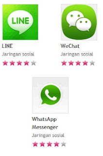 Download Aplikasi LINE, WeChat, WhatsApp, Kakao Talk di Hp Nokia