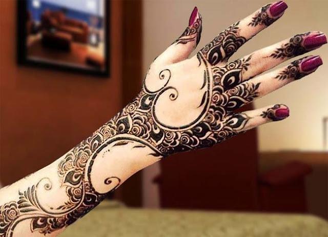 Arabic Mehndi Design-