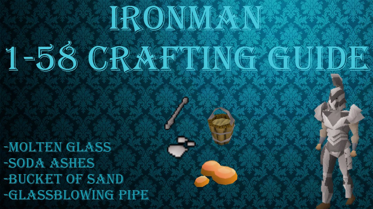 Ironman crafting guide rs3