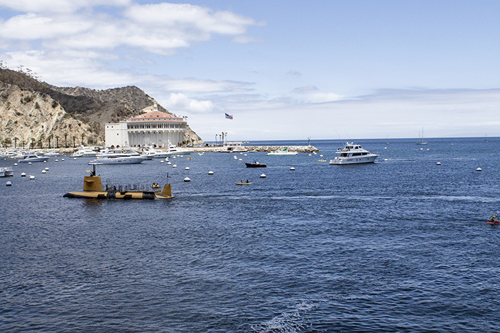 Avalon, Catalina Casino, Catalina Island, Pacific Ocean, Marina