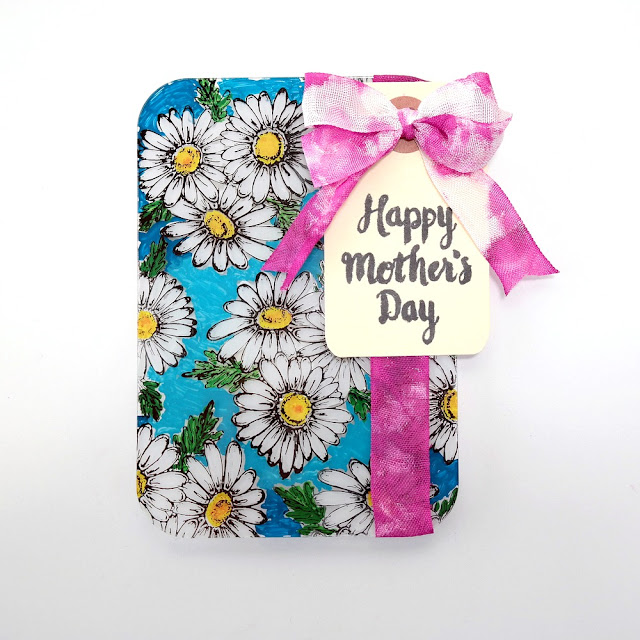 Mother's Day Stamped Acrylic Card by Dana Tatar for Tando Creative
