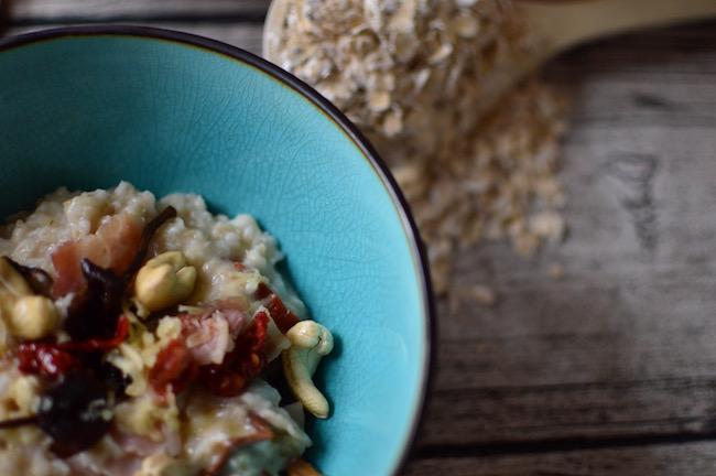 savory oatmeal, pekonipuuro