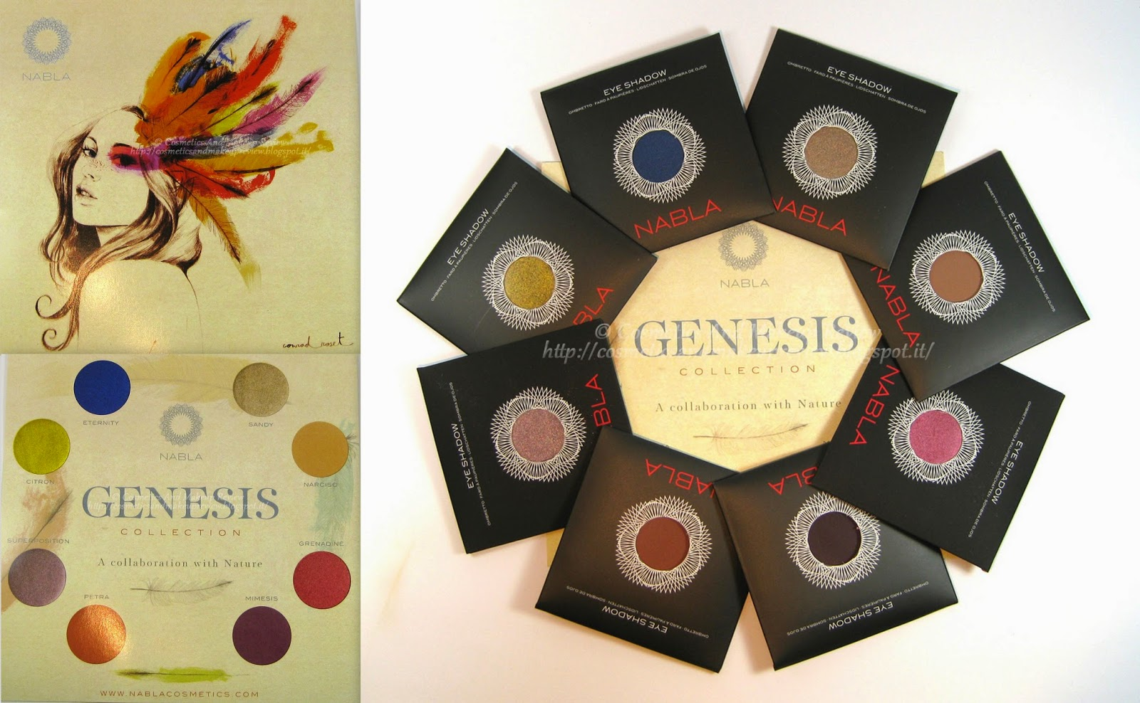Nabla Cosmetics - Genesis Collection