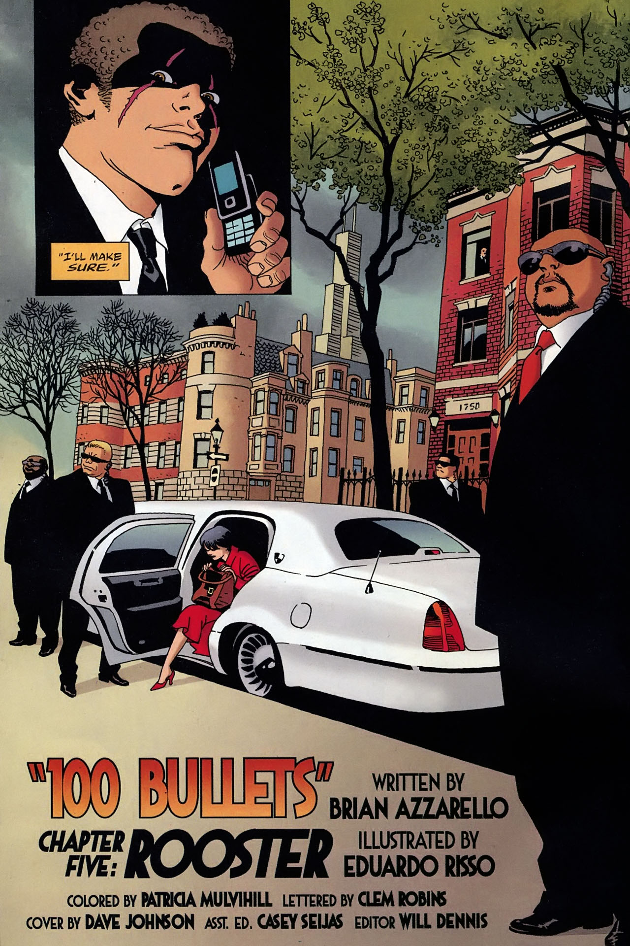 Read online 100 Bullets comic -  Issue #93 - 5