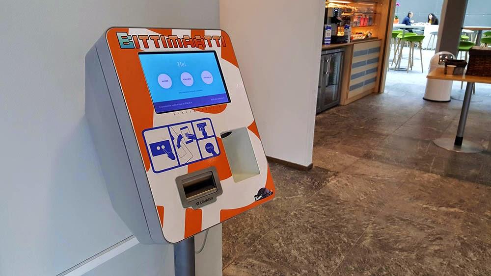 Bittimaatti Bitcoin-automaatin ohjeet