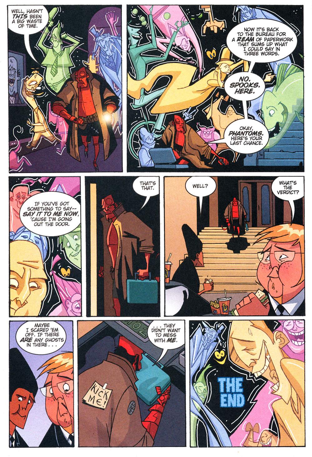 Read online Hellboy: Weird Tales comic -  Issue #4 - 27