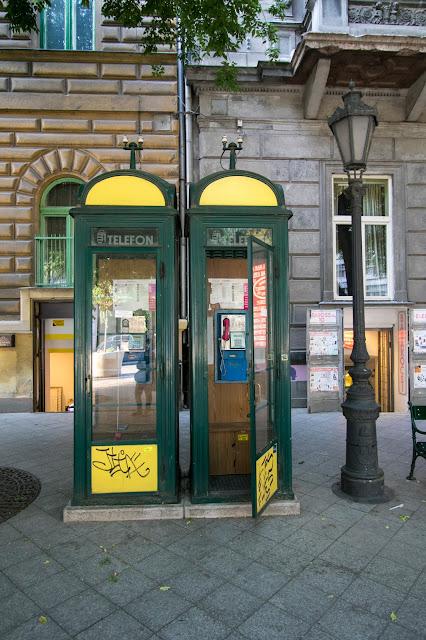 Cabine del telefono-Budapest