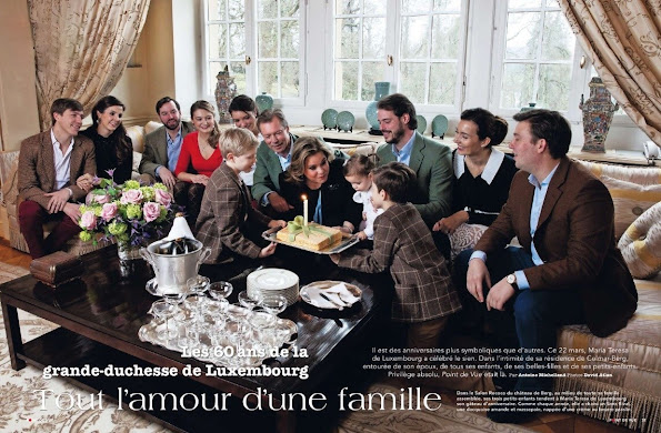 Princess Joan, Princess Charlotte, Mrs. Cunningham, Prince Robert, Princess Julie, Princess Charlotte, Prince Alexandre, Prince Frederik