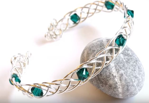 Multi Stranded Wire Braided Cuff Tutorials - The Beading Gem\'s Journal