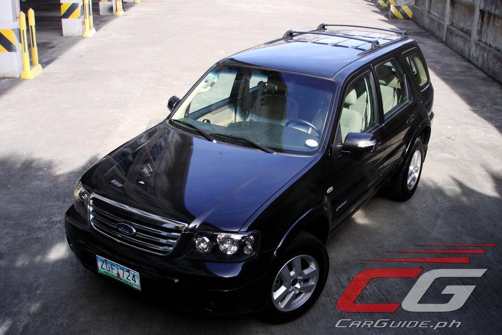 review 2004 ford escape 2 3l philippine car news car. Black Bedroom Furniture Sets. Home Design Ideas