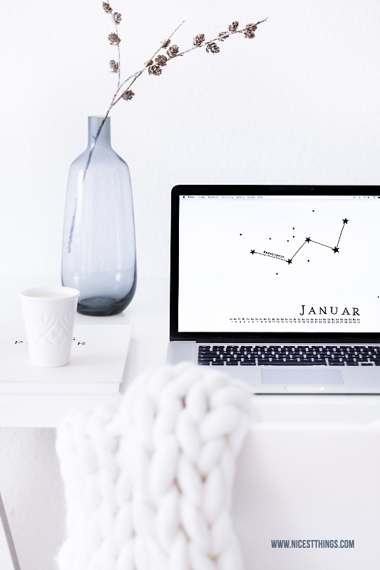 Constellation Wallpaper Sternbild Kalender Desktop Freebie
