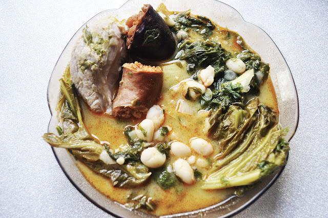 plato de pote asturiano