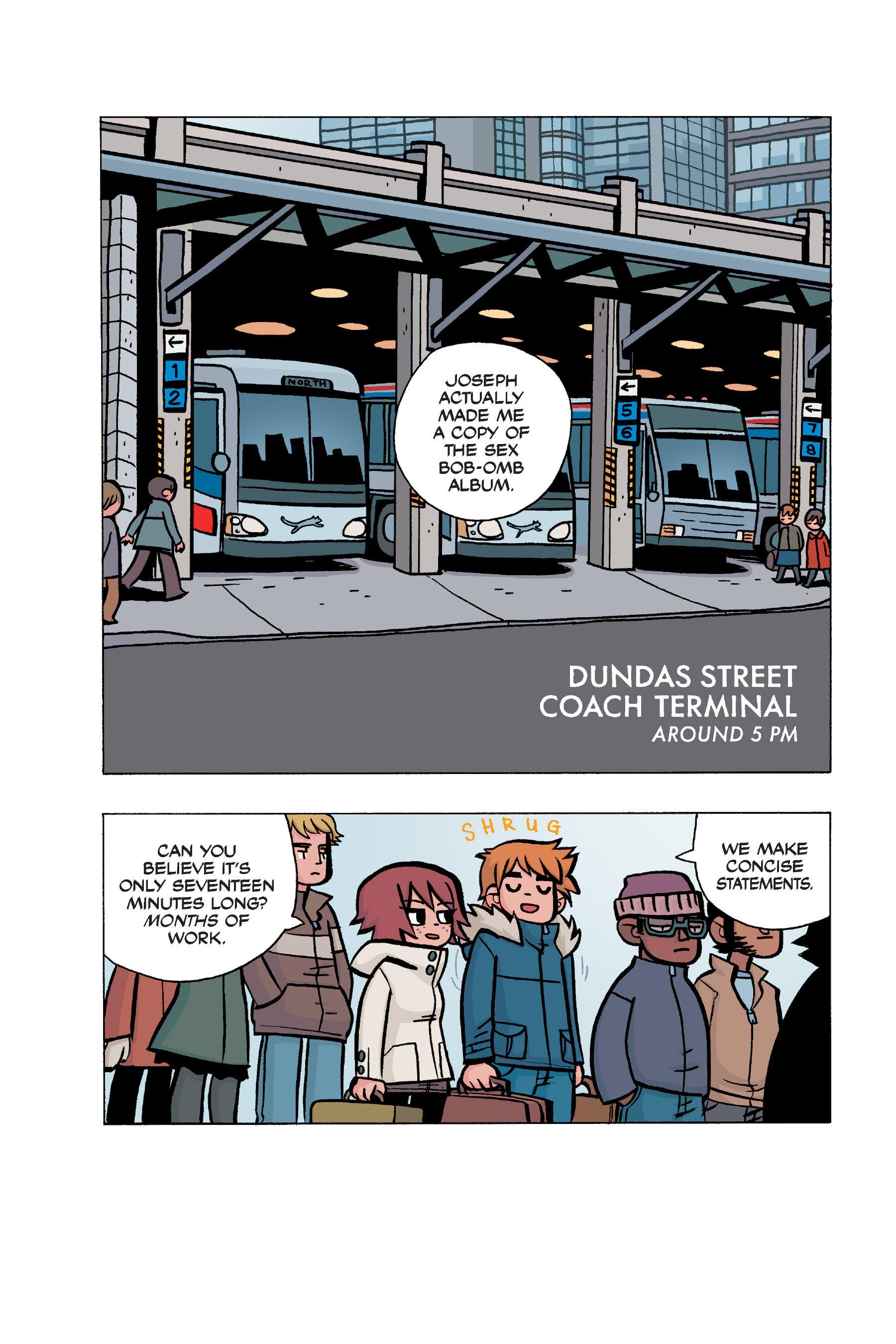 Read online Scott Pilgrim comic -  Issue #5 - 159