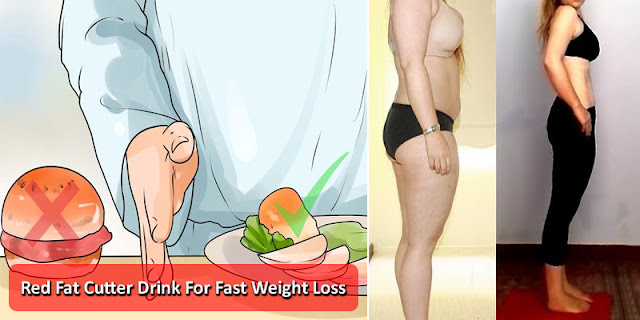 How To Use Red Fat Cutter Drink For Lose 10 KG Weight In 7 Days!