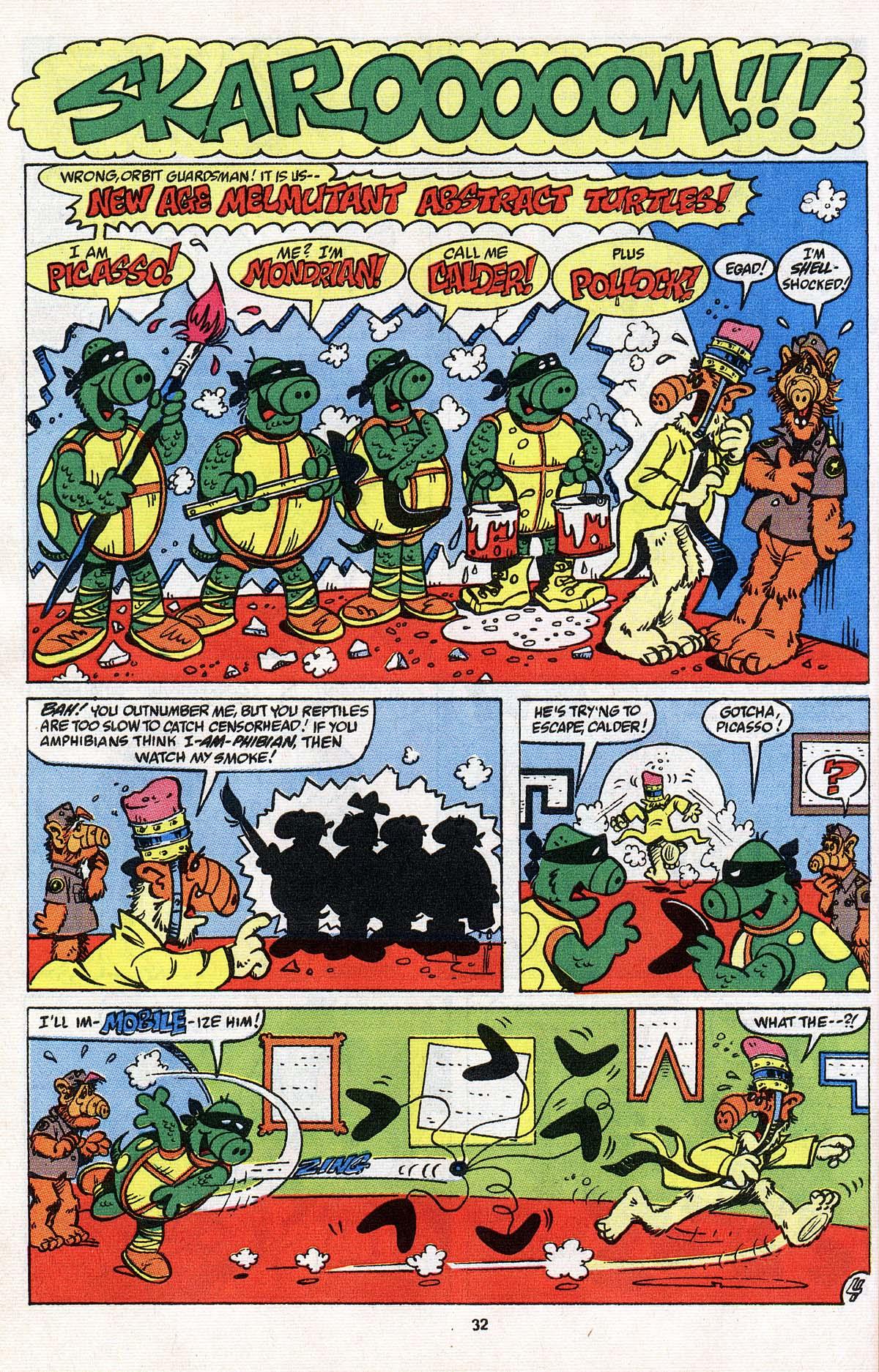 Read online ALF comic -  Issue # _Annual 3 - 29