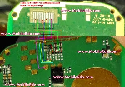 Nokia 114 White Display Solution Lcd Ways Jumper | gsmfixer