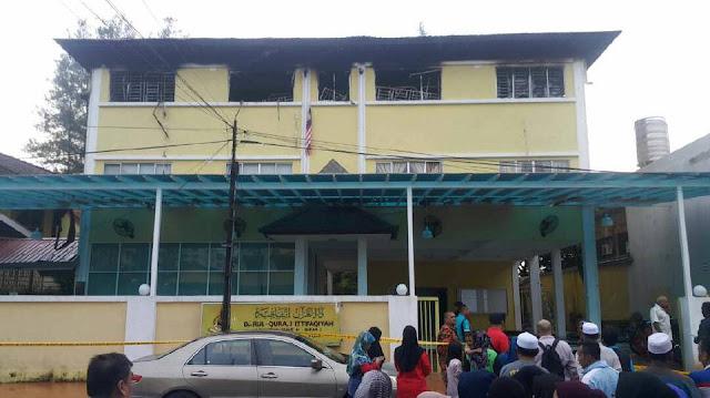 Lebih 20 orang  Maut Dalam Kebakaran Pusat Tahfiz Darul Quran Ittifaqiyah