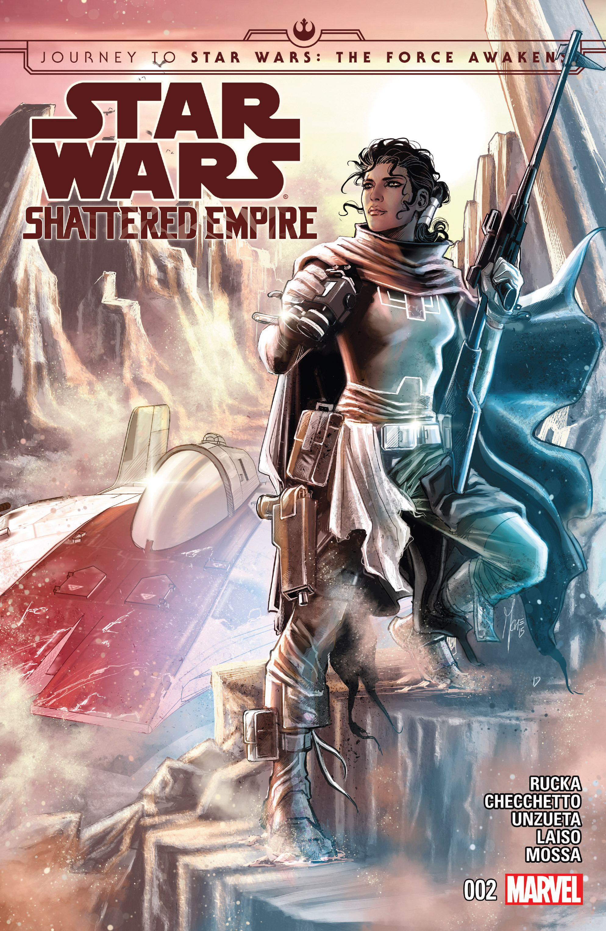 Journey to Star Wars: The Force Awakens - Shattered Empire 2 Page 1