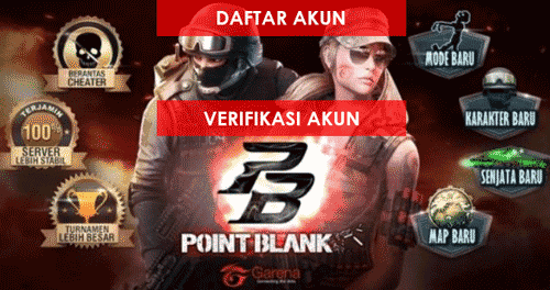 Daftar Point Blank Garena