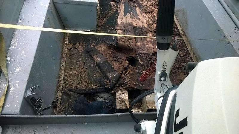 The Wood Knack Grumman Sp145 Part 1 Nasty Old Floor