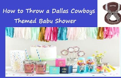 95e9e7e2d3c How to Throw a Dallas Cowboys Football Themed Baby Shower