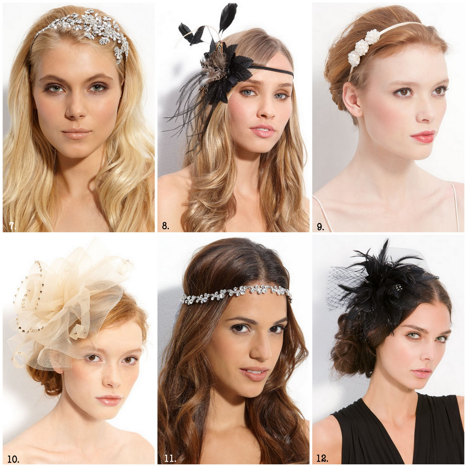 6. Tweedy Lady. Get Upper East Side glam with a fabric and feather  fascinator centered around a large gemstone.  18.90   R50 b71409a39bd