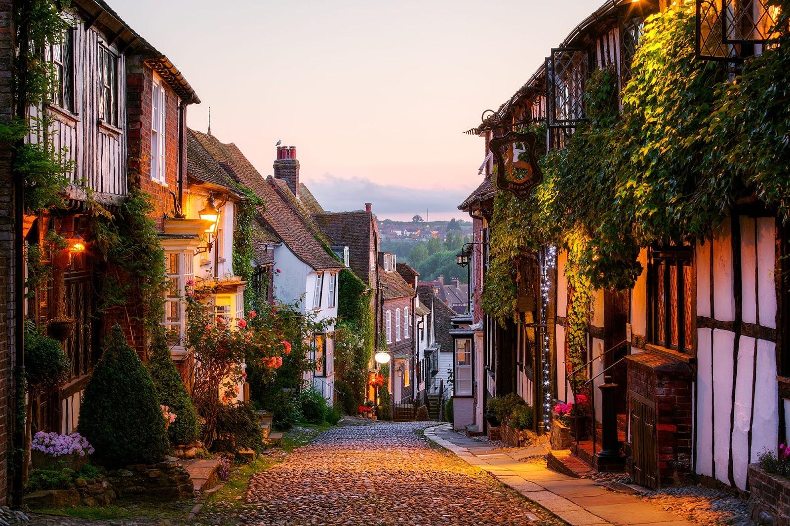 красивые фотографии домов улиц находится