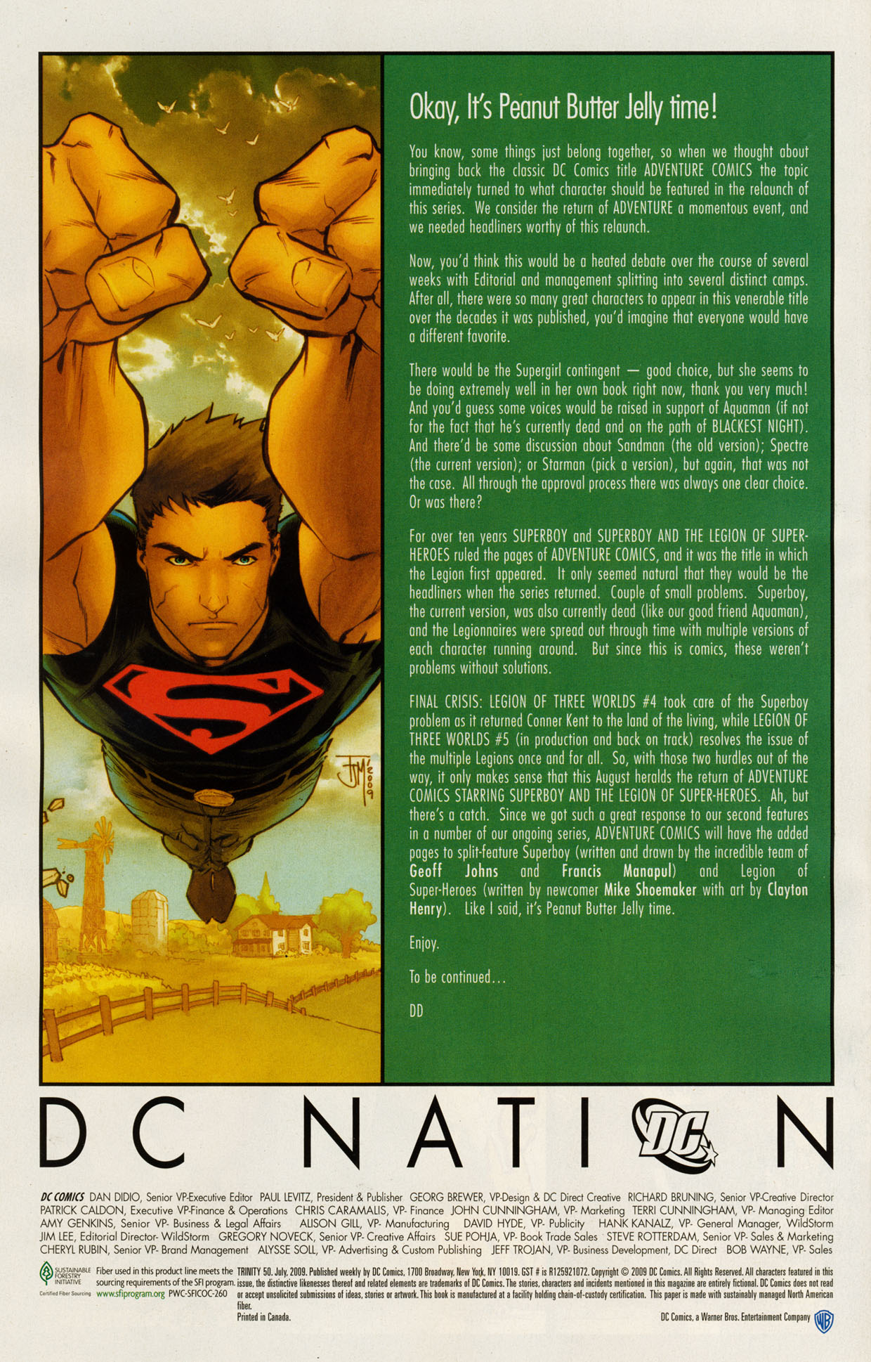 Read online Trinity (2008) comic -  Issue #50 - 30