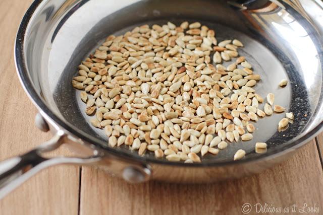 Toasting Sunflower Seed Nuts
