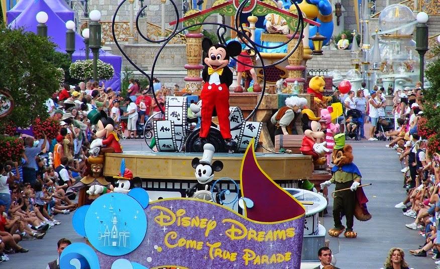 Parque Disney Magic Kingdom em Orlando