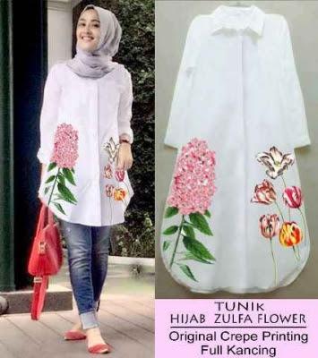 Baju Kemeja Muslim Wanita ini adalah menjadi Trend Baju muslim terbaru di  Bulan Juni 2016 ini. Sudah mulai banyak pembeli dan pencari baju kemeja  tunik di ... c7b0f8ba0e