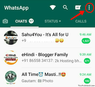 Whatsapp par online status hide kaise Kare
