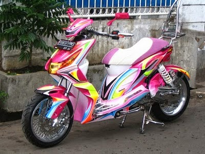 Let Us Further Modification Photo To Honda Beat Frightening Word Is Apt Given Modifications This One How Did The No Orange Lightning Motif