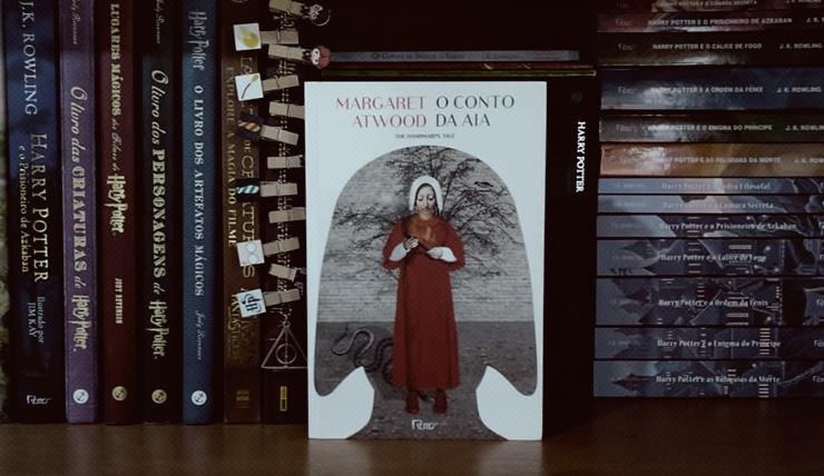 Capa do livro O conto da aia