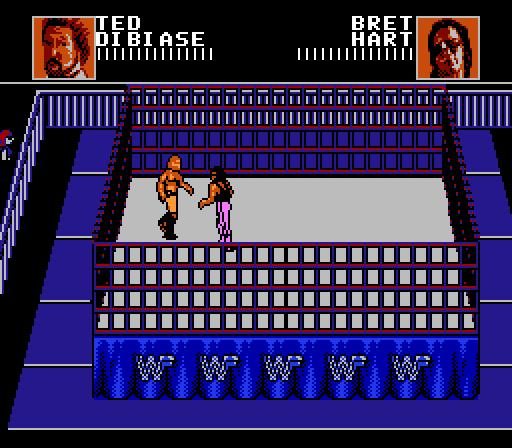 Vgjunk Wwf Wrestlemania Steel Cage Challenge Nes