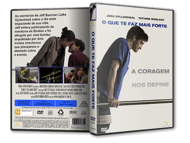 Capa DVD O Que Te Faz Mais Forte [Exclusiva]