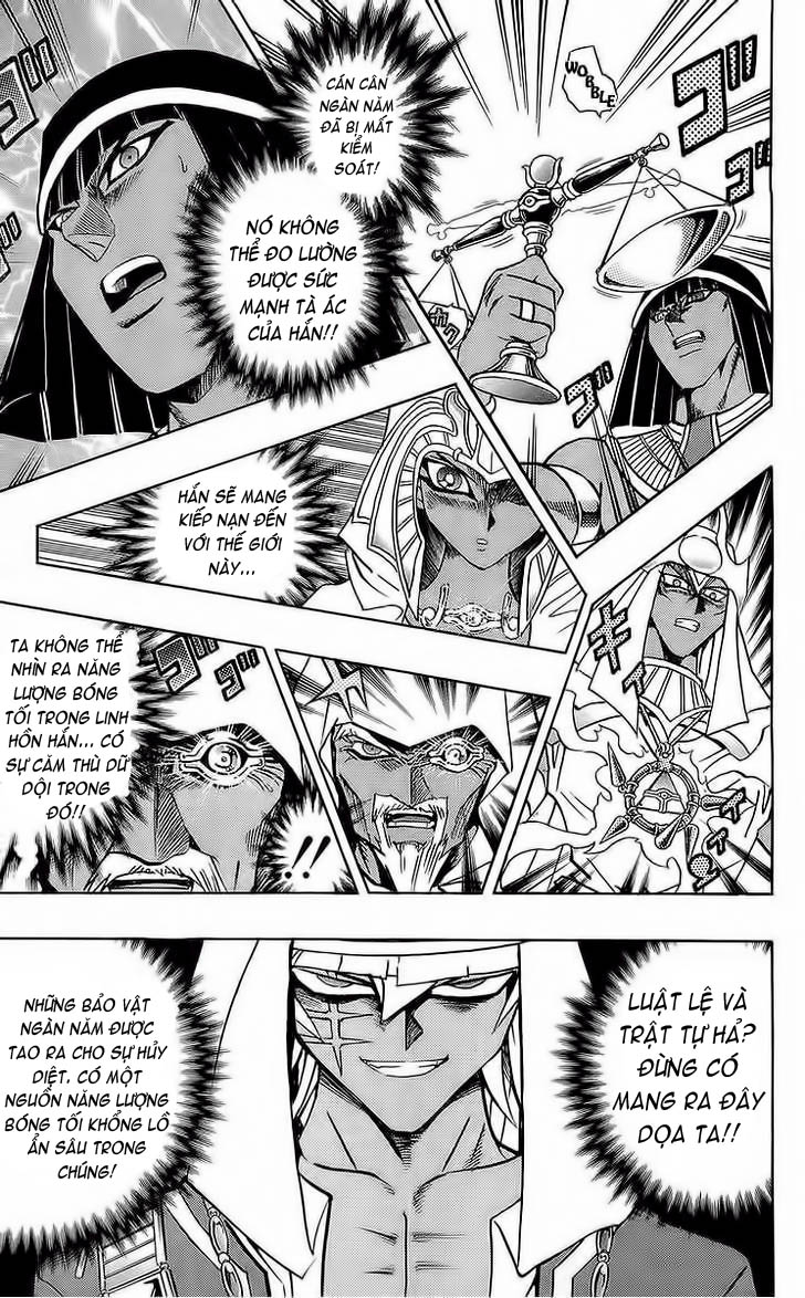 YUGI-OH! chap 285 - bakura, vua trộm trang 12