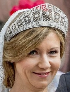 meander tiara prussian crown princess cecilie germany diamond kokoshnik viktoria