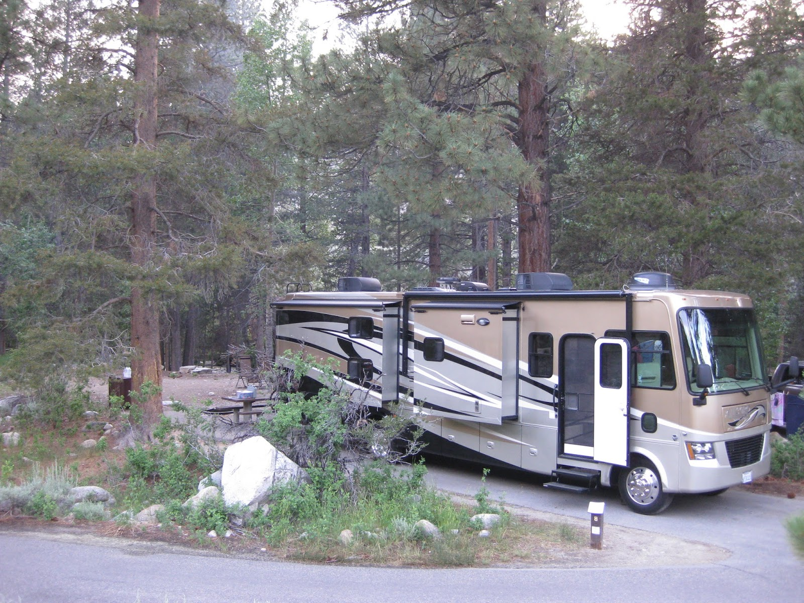 Campgroundcrazy Lower Twin Lakes Campground Bridgeport
