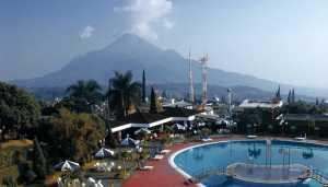 Panorama Pemandangan Dari Hotel & Cottage Surya Prigen, Tretes