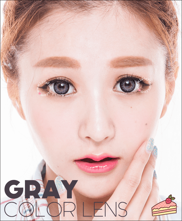 geo princess mimi sesame gray colored contacts