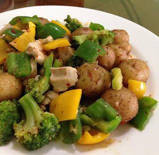 Resep Baby Potato Brokoli By @mrs.viriya