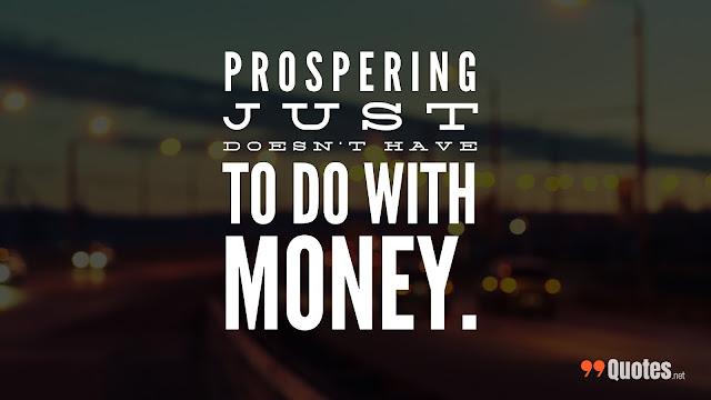 money reality quote