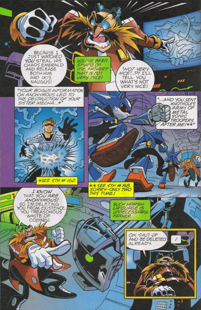 Read online Sonic The Hedgehog comic -  Issue #168 - 6