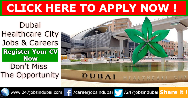 Staff Recruitment and Careers at Dubai Healthcare City Jobs