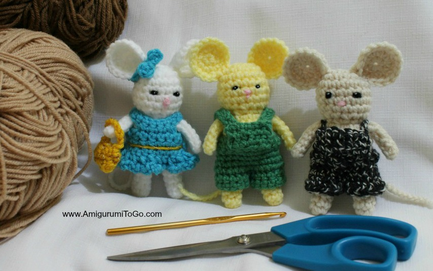 Free Mini Mouse Crochet Patterns | 535x854