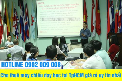 Cho thuê máy chiếu dạy học tại TpHCM giá rẻ uy tín nhất
