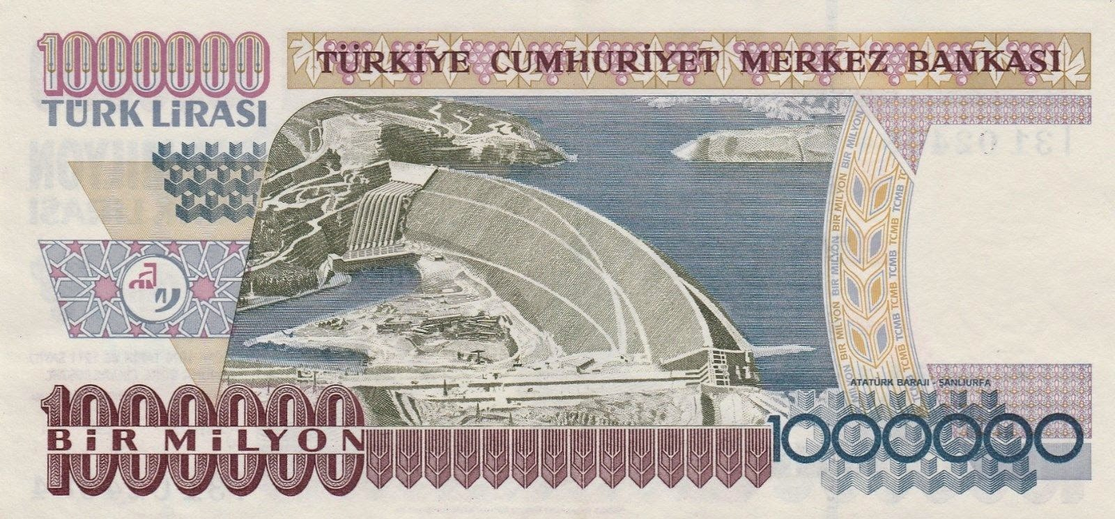 Million Turkish Lira