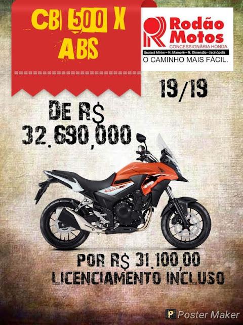 Rodão Motos baixou os preços, garanta já a sua!